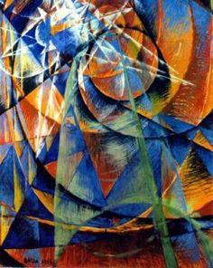 italian futurist painting