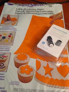 Cutting Sugar Sheets with Silhouette (Including Cut Settings) ~ Silhouette School