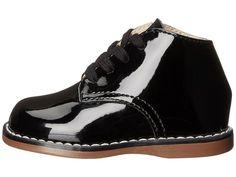 FootMates Todd 3 (Infant/Toddler) Girls Shoes Black Patent