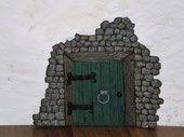 a boy´s fairy door Bookends, Polymer Clay, Fairy, Doors, Home Decor, Elves, Homemade Home Decor, Fairies, Decoration Home