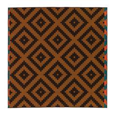 69.99 6x7 LAPPLJUNG RUTA Rug, low pile - orange/brown - IKEA