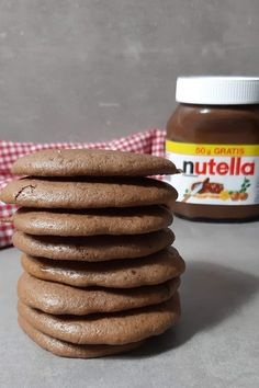 Backen mit Nutella! Hast du schon mal mit Nutella gebacken? So machst du weiche weiche Schokokekse mit Nutella. #Nutella #NutellaKekseBacken mit Nutella! Hast du schon mal mit Nutella gebacken? So machst du weiche weiche Schokokekse mit Nutella. #Nutella #NutellaKekse Chef Recipes, Dessert Recipes, Desserts, Cupcake Cakes, Cupcakes, Sausage, Almond, Chocolate, Breakfast