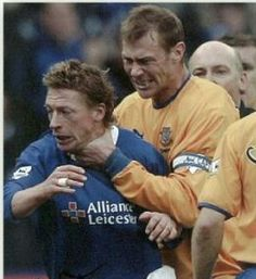 Duncan Ferguson learning restraint