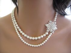necklace for the big day? can i still wear diamond studs with it?