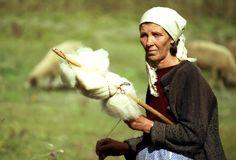 Spinning wool Photograph - Spinning wool Fine Art Print - Emanuel Tanjala