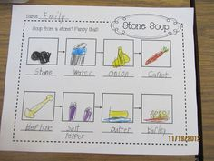 Teacher Bits and Bobs: Search results for Stone soup. Flow map for retelling Kindergarten Writing, Kindergarten Activities, Teaching Writing, Letter S Activities, November Thanksgiving, Kindergarten Thanksgiving, Thinking Maps, Stone Soup, Book Projects