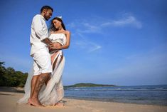 Lebe deinen Traum: die paradiesische Hochzeit von Dassana und Paolo
