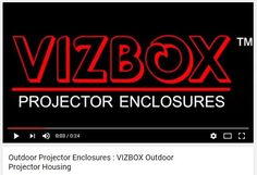 VIZBOX ® Projector Enclosures are specifically designed for the outdoors and harsh environment - for any type of weather. Ideal for outdoor events, shopping centres, live stages, marine environments, theme parks and shopping centres, exported globally from the UK https://www.youtube.com/watch?v=3HEDo7D7_nE