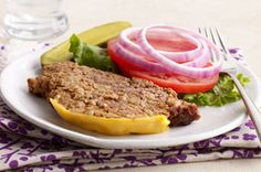 Slow-Cooker Cheeseburger Meatloaf Recipe - Kraft Canada