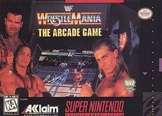 WWF WrestleMania: The Arcade Game (Super NES, 1995)