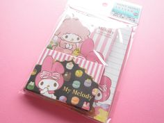 Kawaii Cute Mini Letter Set Sanrio Japan Exclusive *My Melody (15849)