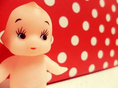 Spot the Kewpie. Kewpie, Vintage Ornaments, Hello Kitty, Miniatures, Stamp, Dolls, Pictures, Fictional Characters, Image