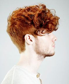 Mens Short Curly Hairstyles 2015