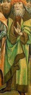 Hosszú felsőruha (Szent Miklós legendájának jelenetei, Jánosrét) 02 - Hagyomány és múltidéző