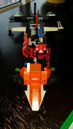 My Bro's starship,  the back.