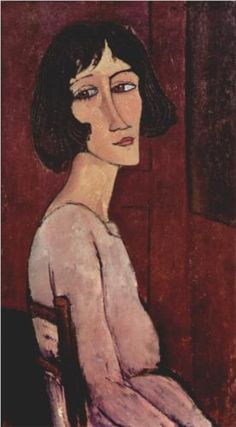 Portrait of Margarita by Amedeo Modigliani, 1916.