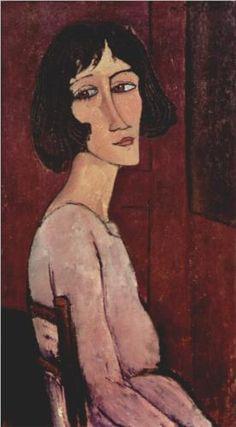 Portrait of Margarita by Amedeo Modigliani, 1916.
