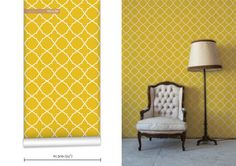 WR0369NM Simple Geometric Wallpaper. Montreal-based textile designer, Noam Mechaly. His wonderfully inspired, eclectic designs are the basis...http://wallpaperrepublic.com/dt_portfolio/simple-geometric/