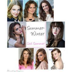 """Summer-Winter seasonal colouring (Cool Summer)"" by thirtysomethingurbangirl on Polyvore"