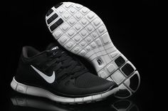 Nike Free Run 5.0 Womens Black White