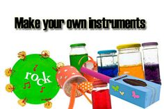 Video - make your own musical instruments