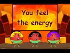 Learn about heat energy with this fun song from Science4Us.com! Generate excitement in your classroom, at Club Sizzle!