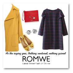 """""""Romwe!!"""" by bv-b ❤ liked on Polyvore featuring Barbara Bui, Charlotte Olympia, Versus and Blue Nile"""