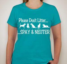 Support NMB Spay & Neuter Assistance Program Fundraiser - unisex shirt design - front