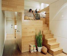 Modern Studio Apartment - Modern Bedroom