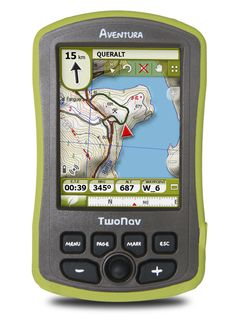 """TwoNav Aventura - The ultimate GPS: enjoy an impressive 3,5"""" sunlight-readable touchscreen display with big buttons. Easy to use, even with gloves. Up to 30-hour battery life to guide you during the most increible adventures."""