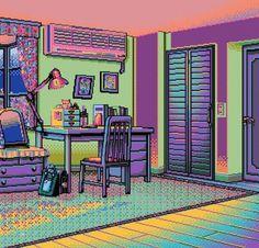 Pixel Art, Animated Gifs, 8 Bit Art, Vaporwave Art, Neon, Grunge, Retro Art, Kawaii, Funny Art