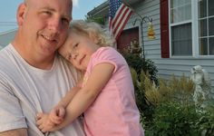 Her wounded warrior daddy is her hero