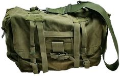 fa00949a4da Military Outdoor Clothing Previously Issued US GI OD Nylon Suspenders