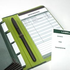 Knock Knock's Receiptables Money Organizer