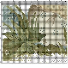 """""""Lily Of The Valley"""" Hummel cross stitch  -  pattern 1D"""