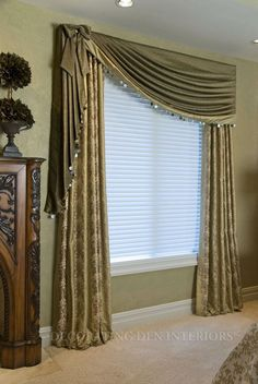 New catalogue of classic luxury curtains and luxury drapes 2017 with the best classic curtains designs and drapery designs 2017 for all rooms living room, kitchen, dining room, bedroom and bathroom curtain designs 2017 for luxury interior design Curtains And Draperies, Home Curtains, Modern Curtains, Colorful Curtains, Valances, Cornices, Luxury Curtains, Green Curtains, Drapery Panels