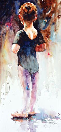 painting_loose_Jozwiak_Tiny_Dancer | artistsnetwork.com #watercolorarts
