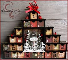 Christmas Advent Calendar - Scrapbook.com