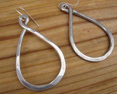 Big Earrings Bold Long Infinity Teardrop by nicholasandfelice, $ 18.00