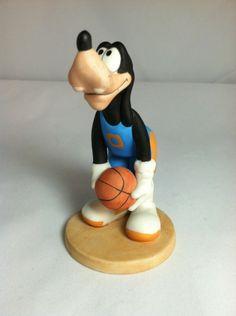 Ceramic Basketball Goofy Figurine By Disney