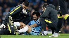 Pep Guardiola Khawatir Dengan Cedera Ilkay Gundogan