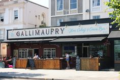 The Gallimaufry, Gloucester Road - Outside