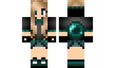 minecraft skin ender-girl-edit Find it with our new Android Minecraft Skins App: https://play.google.com/store/apps/details?id=the.gecko.girlskins