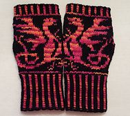 Ravelry: Mythic Mitts pattern by Wendy D. Johnson