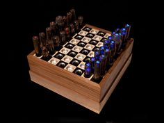 Chessboards and pieces aren't just the tools of mental warfare. They're also works of artespecially when DIYers take the 64 squares and 32 pieces in unexpected directions.