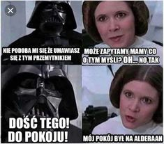 Tagged with star wars, starwars; Shared by My favorite Star Wars posts from the past year Star Wars Film, Star Wars Witze, Star Wars Jokes, Funny Star Wars, Starwars, Carrie Fisher, Reylo, Sith, Memes Humor