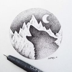 Amazing Pen and Ink Cross Hatching Masters Edition Ideas. Incredible Pen and Ink Cross Hatching Masters Edition Ideas. Dotted Drawings, Ink Drawings, Drawing Sketches, Cool Drawings, Drawing Ideas, Tattoo Sketch Art, Heart Drawings, Doodle Drawing, Doodle Art
