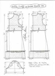Diy Vestidos, Vestidos Vintage, Vintage Dresses, Make Your Own Clothes, Look Fashion, Fashion Tips, Pattern Drafting, Blouse Designs, Sewing Projects