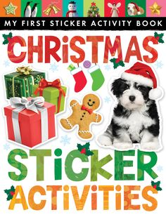 Christmas Sticker Activities (My First Sticker Activity): This sticker book is the perfect way to enjoy a creative Christmas. Packed with activities and colorful photographic stickers, it provides hours of holiday fun. Best Christmas Books, My First Christmas, Christmas Holidays, Christmas Ideas, Creation Activities, Book Activities, Activity Books, Good Books, My Books