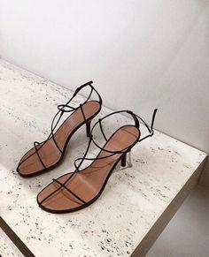 570bb88366 Shop THE ESSENTIAL TEN Dark Floss Heels edit now.